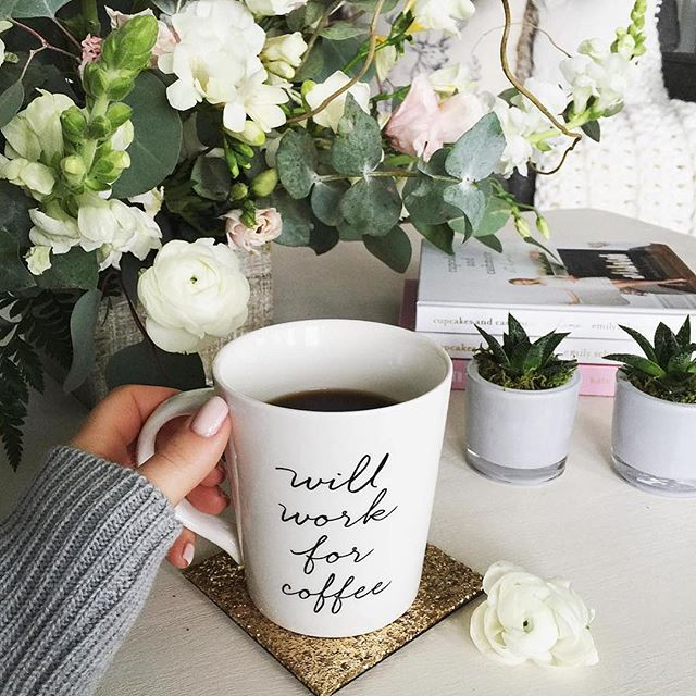 We will too ☕️ Happy Saturday! #sdjoy (Photo credit: @misschrisycharms)