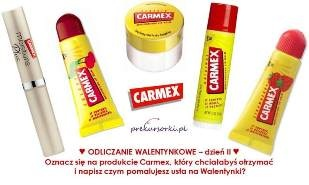 Balsamy i błyszczyki Carmex rozdane! :) www.prekursorki.pl #testy #carmex #glossy
