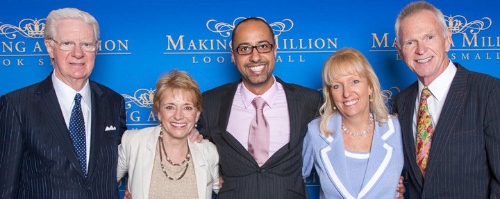 Dr. Hisham Abdalla author of 4D Leadership with Bob Proctor, Mary Morrissey, Peggy McColl and Gay Hendricks.