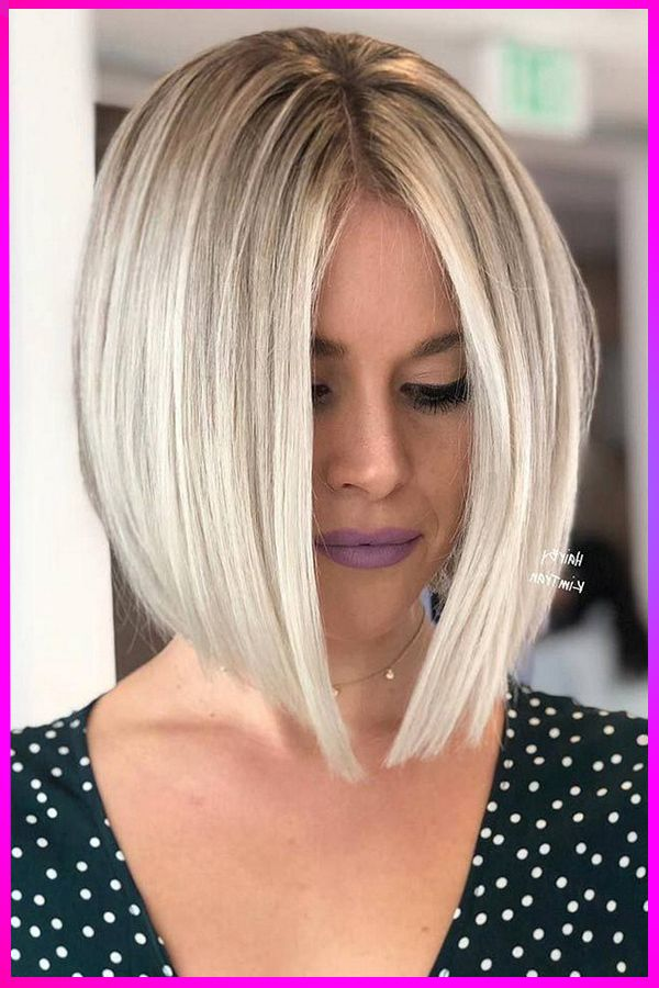 Lovely Short Blonde Haircuts And Styles For Womens With Round Face Short Hair Styles For Round Faces Straight Hairstyles Hairstyle