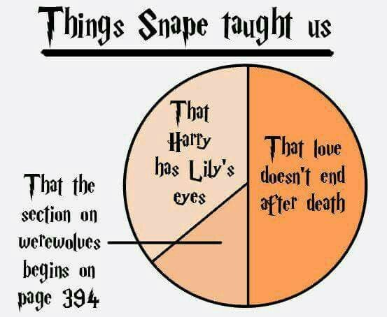 Things Snape taught us