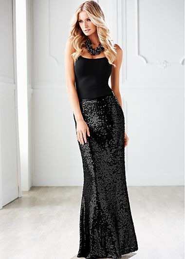 17 Best ideas about Sequin Maxi on Pinterest | Modest formal ...