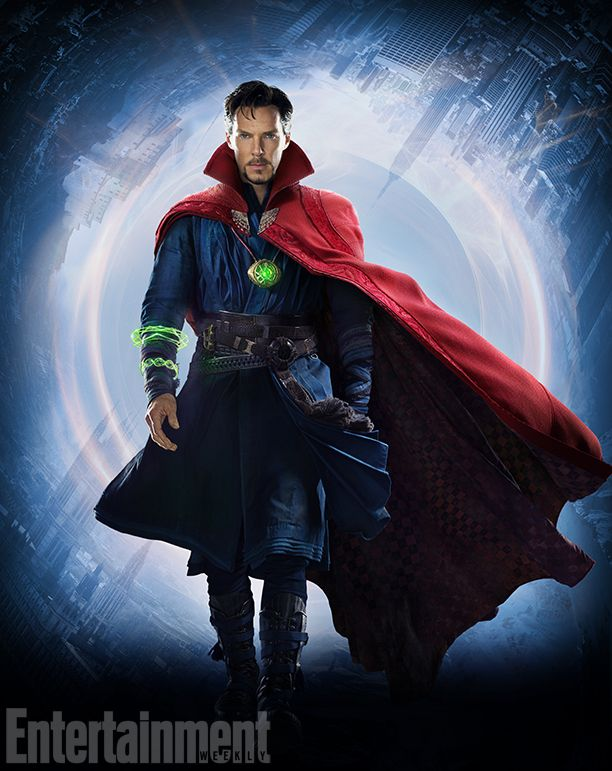 "Benedict Cumberbatch's surgeon-turned-magician character in Doctor Strange (out Nov. 4) is not your usual superhero, so his costume is not your customary baddie-battling outift. ""It's all clothes,"" said costume designer and Marvel movies veteran Alexandra Byrne (The Avengers, Thor) last year, when EW visited the film's U.K. set. ""From the films I've done before, we've got quite a legacy in our fabrics store of almost every type of stretch weave and fabric. And they're sitting on the top..."