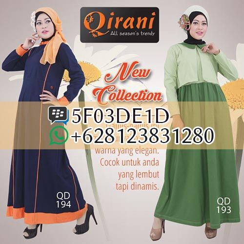 Qirani QD 194, Qirani QD 193, Qirani atasan 2016. Dapatkan item ini di distributor resmi Filaika.com Hubungi : SMS / Whatsapp : 08123831280 BBM : 5F03DE1D