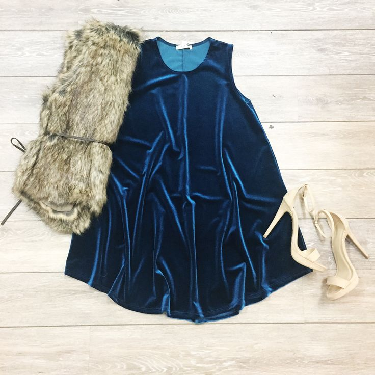 Totally Teal Dress