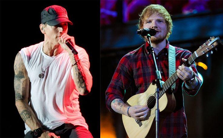 Ed Sheeran Equals Eminem's Achivement on ARIA Charts