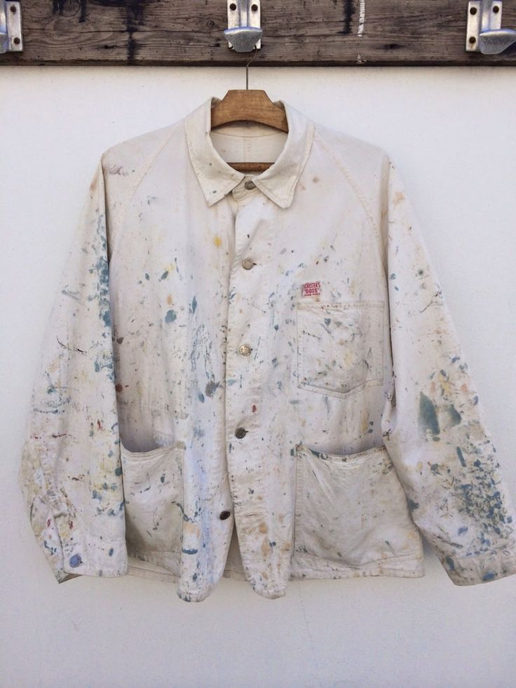 Painters coat as work of art!