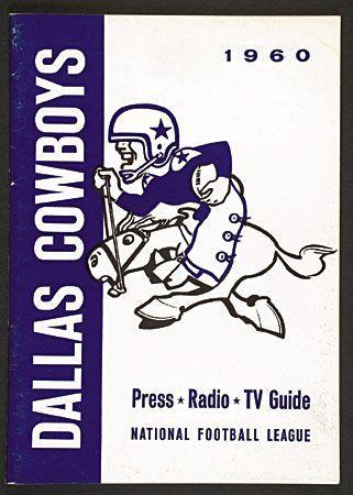 1960 dallas cowboys | 1960 Dallas Cowboys media guide