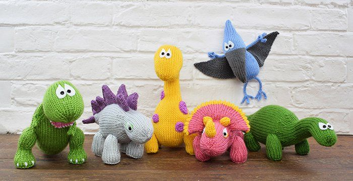 Free Dinosaur Knitting Pattern : 33 best images about Dinosaurs on Pinterest