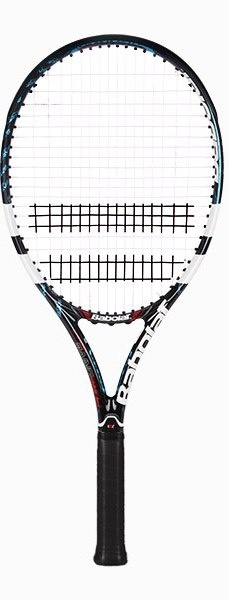 This junior sized version of Andy Roddick's racquet (Roddick actually plays with the Plus 27.5 inch long adult version) is stiffer and heavier than previous Pure Drive junior racquets