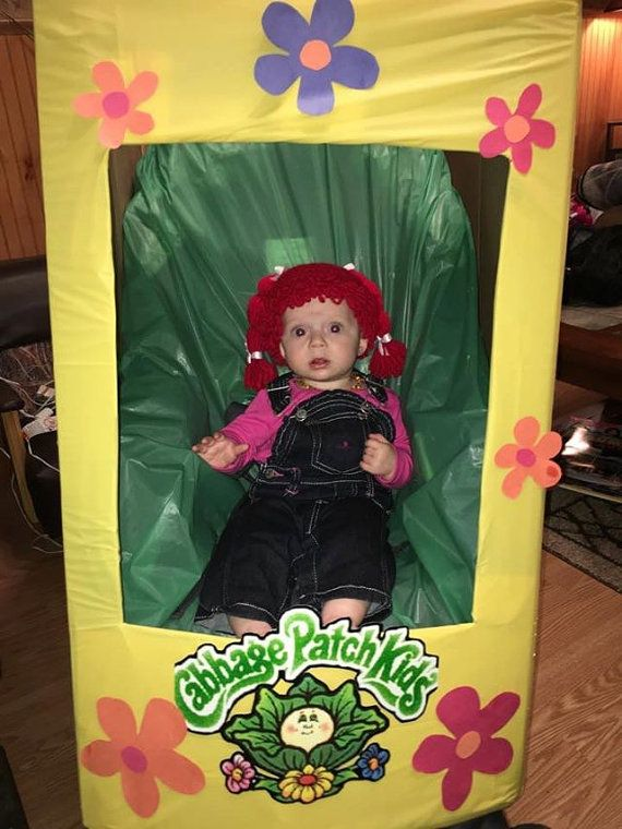 CABBAGE PATCH wig cabbage patch kid by HookWineAndStitches