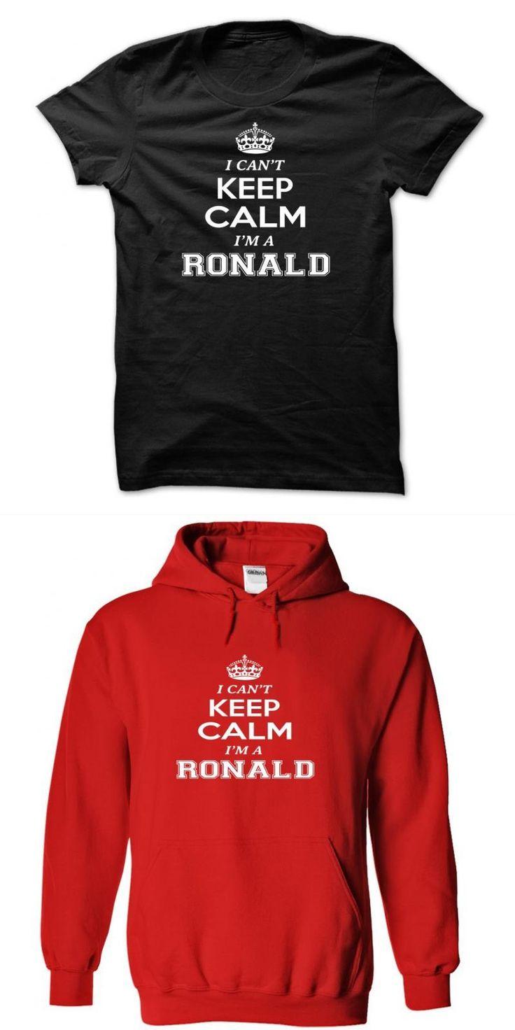 I Cant Keep Calm, Im A Ronald Ronald Mcdonald House T Shirts #ron #swanson #t #shirt #uk #ronald #mcdonald #t #shirts #ronald #reagan #t #shirt #ronald #reagan #with #bandana #t #shirt