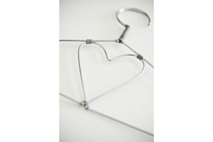 Plain Wire Heart by The Desert Rose Project