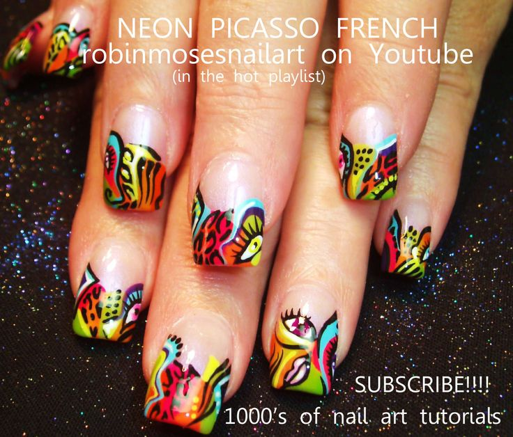 Nail Art Designs Tutorial Youtube: 1000+ Images About SUPER COOL Nail Art With Tutorials