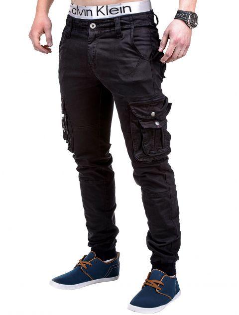 Spodnie P238 - CZARNE