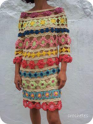 Crochetes: 190 flores