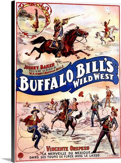 Buffalo Bills Wild West, with Jonny Baker and Vincente ...