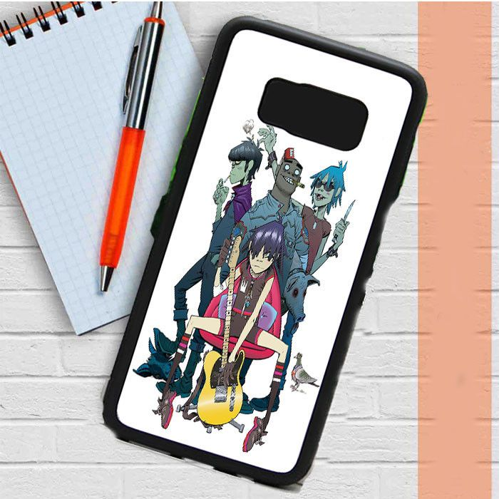 Gorillaz Band Samsung Galaxy S8 Plus Case Dewantary