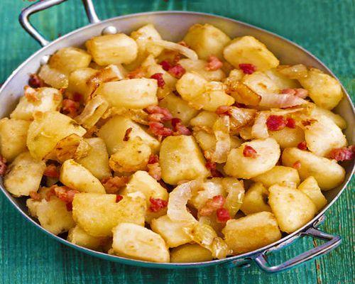 Receta de patatas salteadas estilo alemán