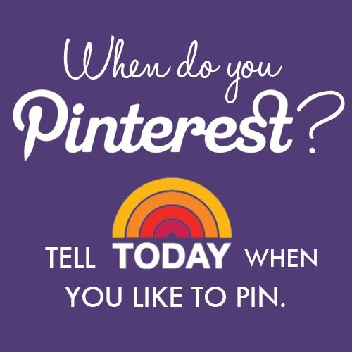 Tell the TODAY show how they can use Pinterest better! (comment here: http://pinterest.com/pin/351475533/)Today Com, Http Pinterest Com, Pinterest Better, Today Todayshow, Pinterestcom, Better Engagement, Pinterest Ideas, Comments, Pinterest Th