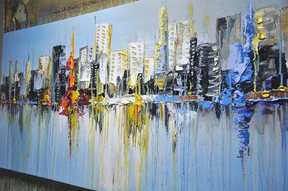 Original abstrakte Malerei moderne nicht glatt von xiangwuchen
