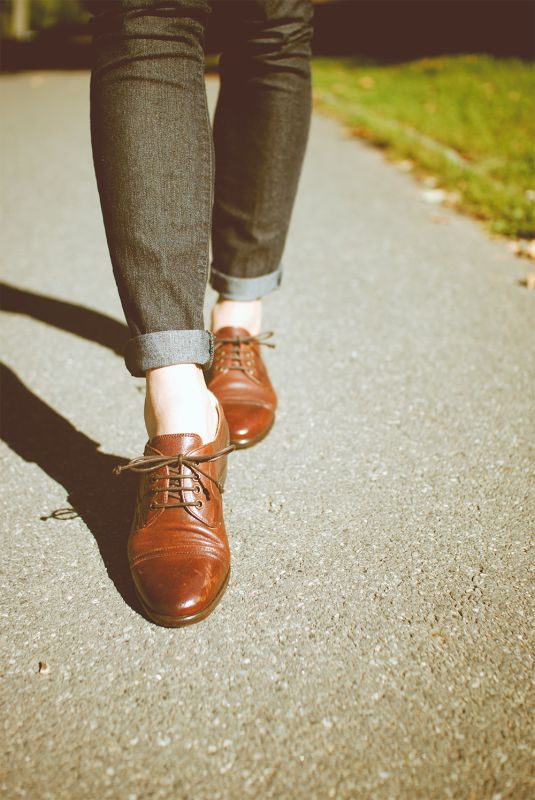 UGG Australia's leather oxfords for women