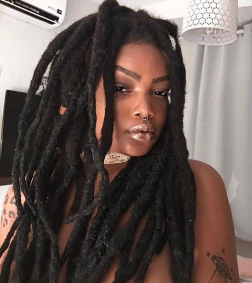 Thick locs. Maybe I'll combine more of mine.