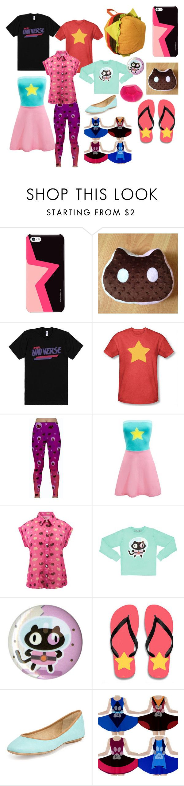"""Steven Universe Travel Outfit #5"" by leviheiichou ❤ liked on Polyvore featuring Ash"