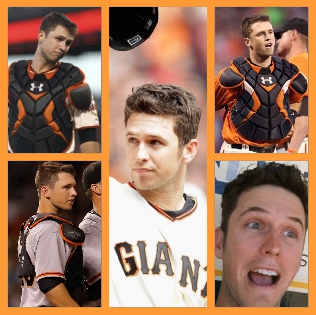 Buster Posey haha those faces ;)