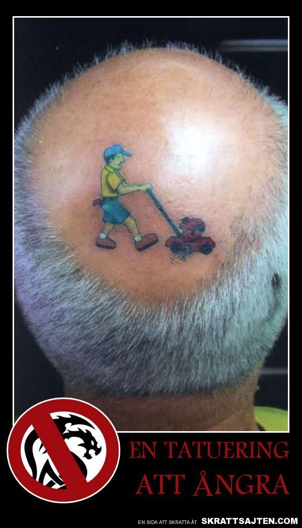 En tatuering att ångra
