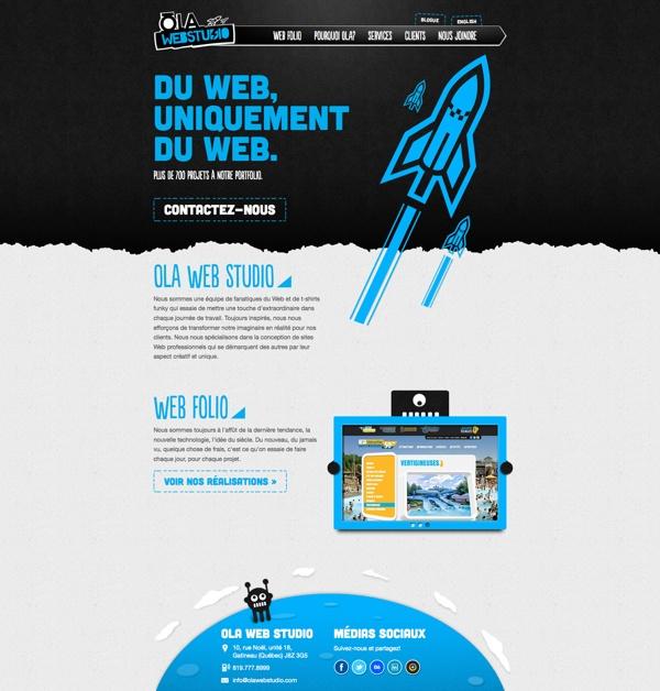 Our new Website, OLA Web Studio: www.olawebstudio.com #webdesign #gatineau #ottawa #websitedesign