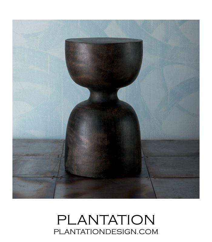 PLANTATION   Rook Wooden Stool