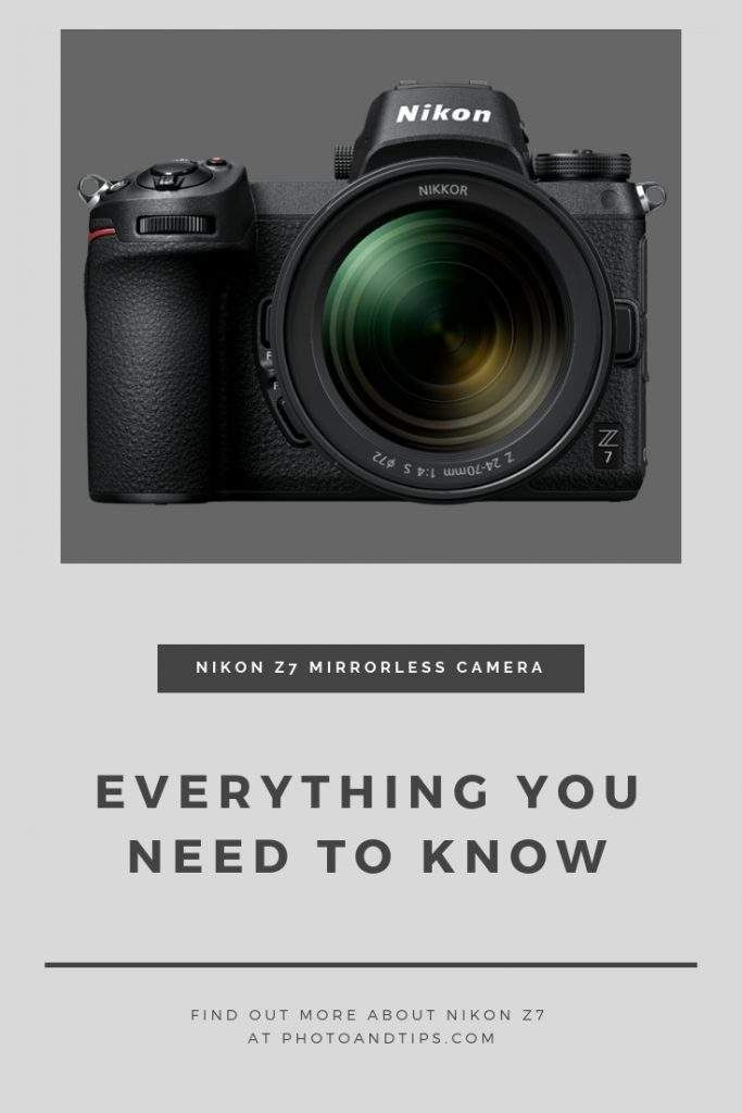 Nikon Z6 And Z7 Full Frame Mirrorless Cameras Everything You Need