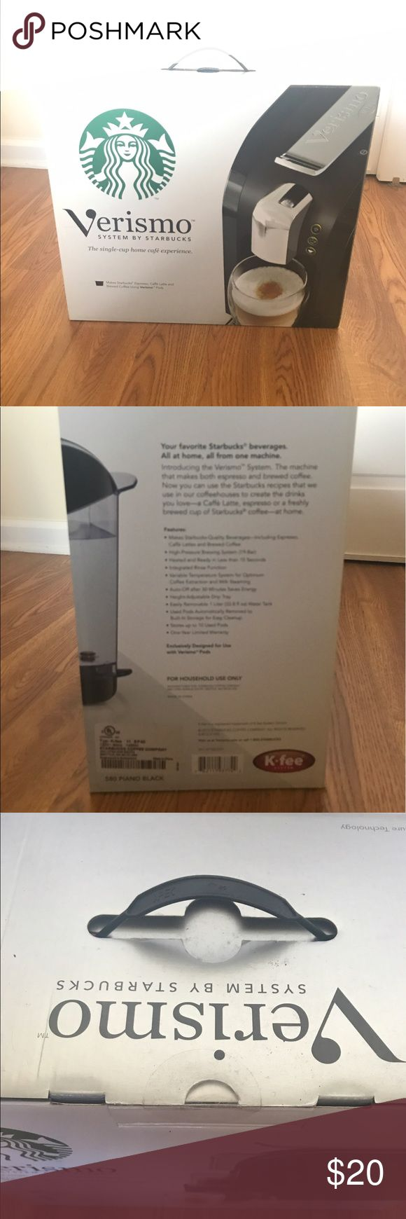 Verismo System by Starbucks Verismo System by Starbucks. The single-cup home café experience. Brand new. Sealed in box. verismo Other