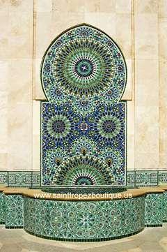 Photo of Moorish Zillij Fountain 02