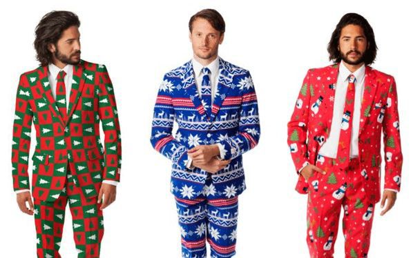 Looking to smarten up your festive wardrobe? Want to stand out from the herd?   Oblivious to ridicule? Then try these 'ugly' Christmas suits