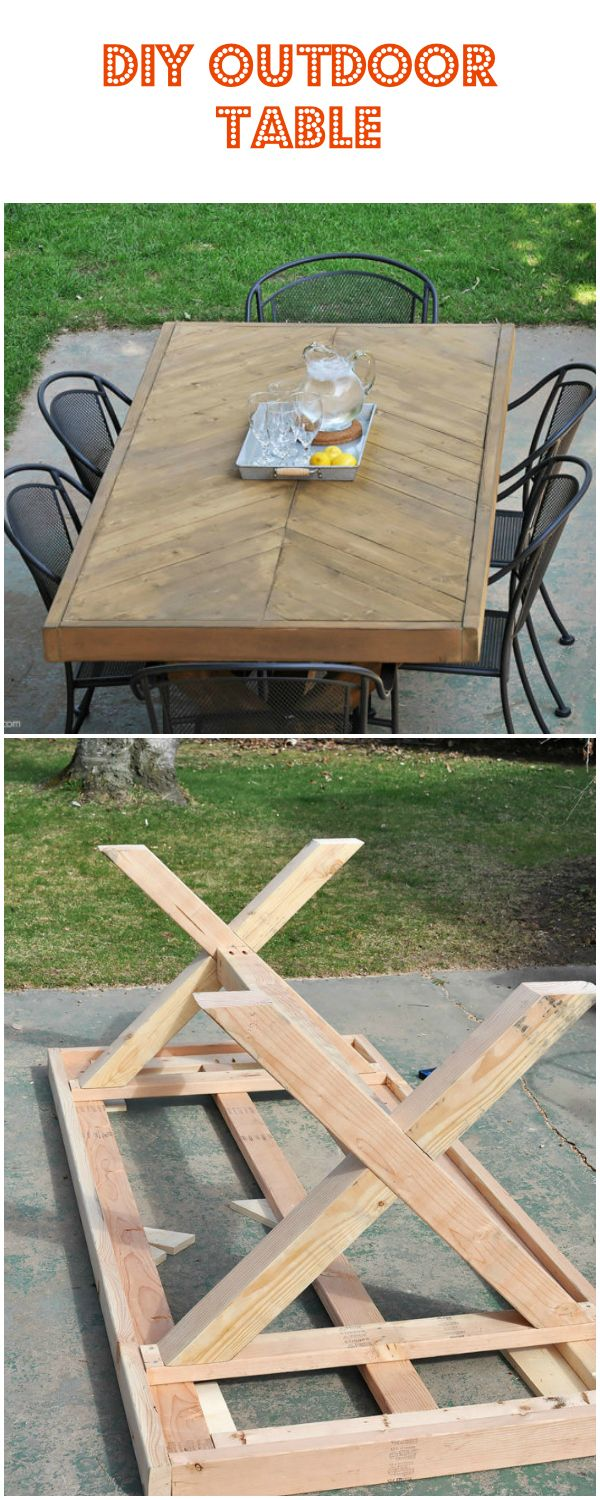 15 Cheap And Stunning Diy Outdoor Furniture Ideas Diy Outdoor Table Diy Outdoor Table Cheap Outdoor Furniture Diy Planters Outdoor