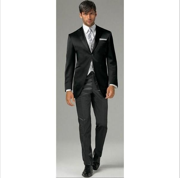 The Groom Suits Autumn/Spring Winter Standard Plus Size Black Wedding Men Suit Modern Hote Tuxedos Gentleman Suit For Men Suit Sale From Baixinqingshop, $83.42| Dhgate.Com