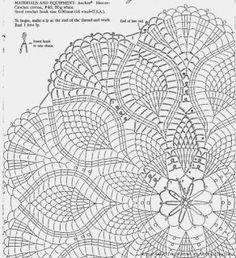 Não tão comum...: Sousplat de croche - modelo 4 - com gráfico