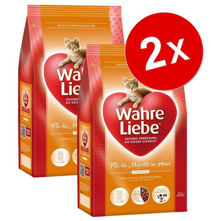 Animalerie  Lot de croquettes pour chat Wahre Liebe 2 x 4 kg  chat sensible