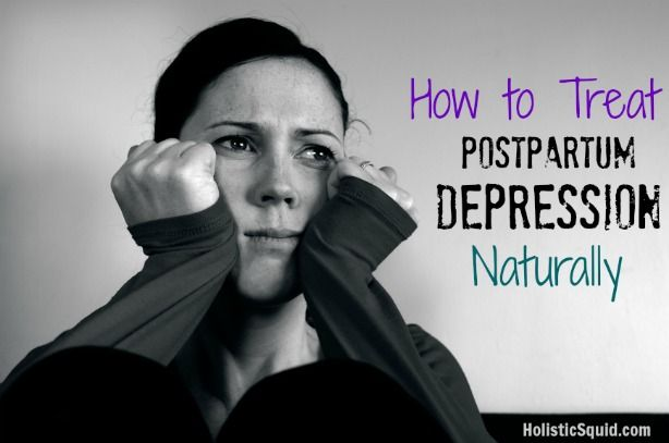 Post Baby Blues? - Treat Postpartum Depression Naturally