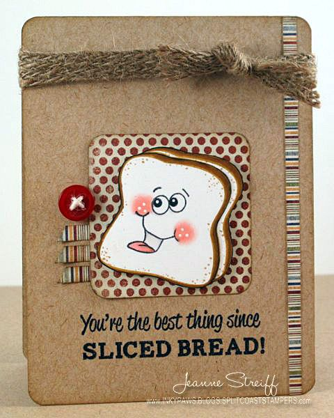 Stamps: @Shannon Peach Keen Stamps (PK-127 Sandwich Fun) @Colleen Bear @jeannestreiff @Splitcoaststampers