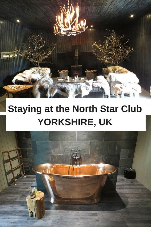 A romantic countryside retreat at the North Star Club in Yorkshire, England. If you like mystical woodlands, sexy bathtubs and toasting marshmallows over a campfire then you'll love the North Star Club.