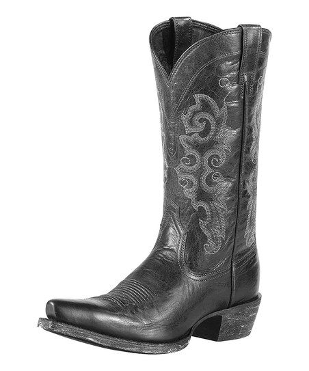 Pitch Black Alabama Boot - Women I want a pair of cowgirl boots so bad.
