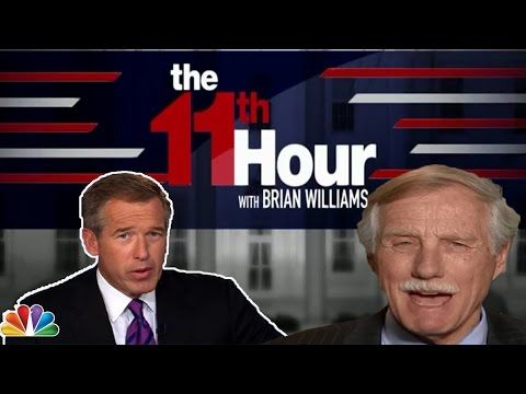 MSNBC Brian Williams 3/28/17 - Sen. Angus King: on why he's unsure how he'll vote on Gorsuch
