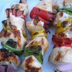 Souvlaki de poulet @ qc.allrecipes.ca