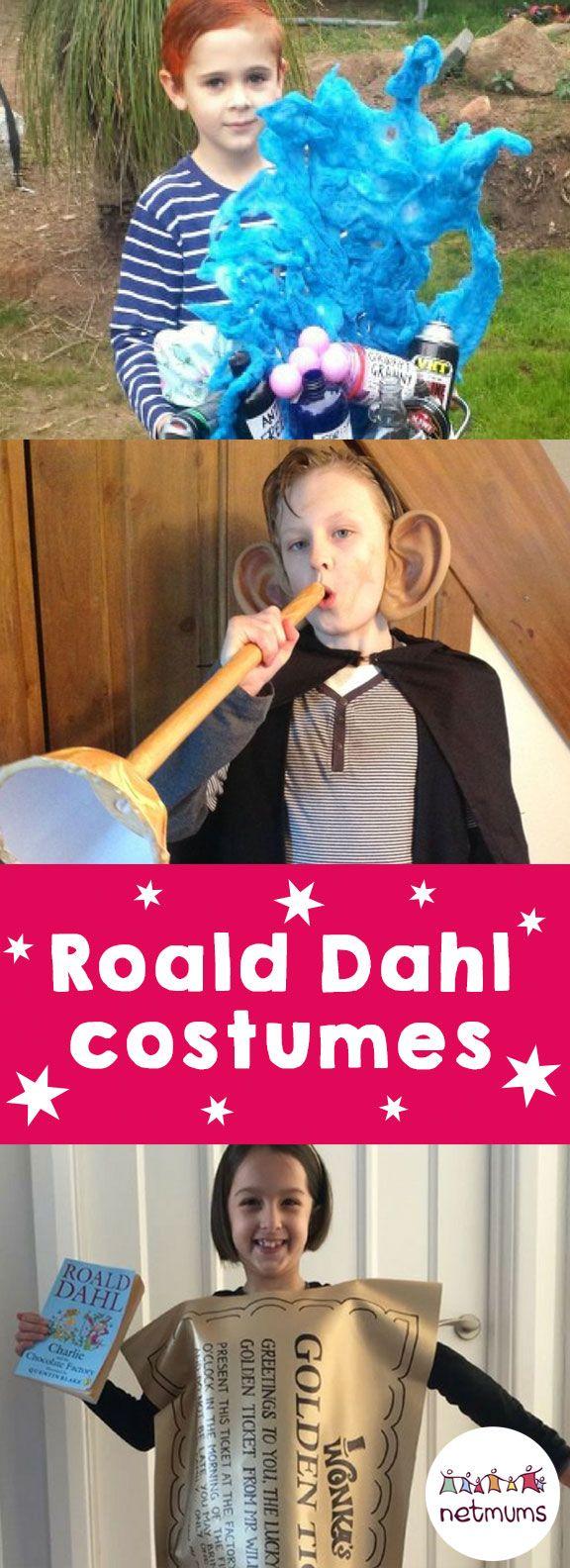 Roald Dahl costume ideas.