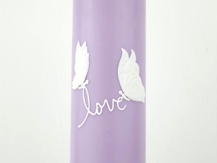 Hochzeitskerzen & Beleuchtung - Hochzeitskerze - ein Designerstück von miocolori-Kerzen bei DaWanda