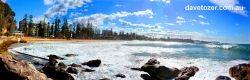Manly beach panorama