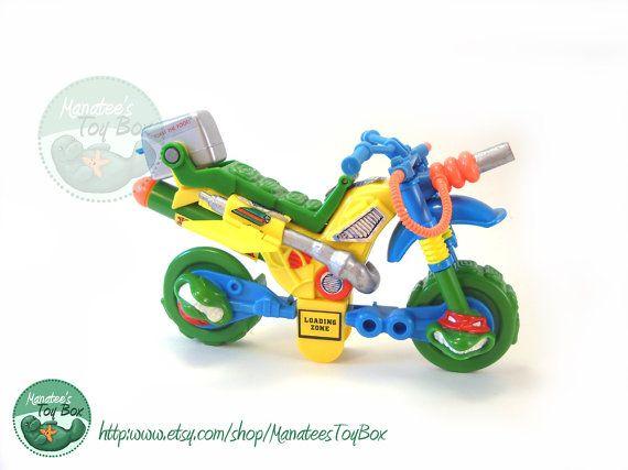 Vintage TMNT Muta-bike Teenage Mutant Ninja Turtles Dirt Bike